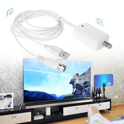 - TV Signal Amplifier Booster New Digital HD Fox Antenna Channel For Cable HD TV