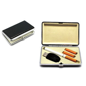 Homgaty Leather Cigarette Case For Electronic Refill Cig Listing E Lites