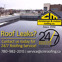 *24/7 Commercial Roofing Service & Maintenance* - Leaks & More!