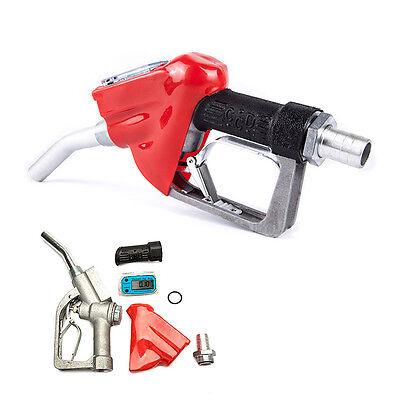 Gasoline Diesel Oil Petrol Nozzle 1 Bspt Digital Flow Meter Fuel Delivery Gun