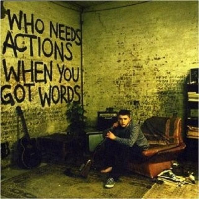 "PLAN B ""WHO NEEDS ACTION WHEN YOU GOT WORDS"" CD NEU"