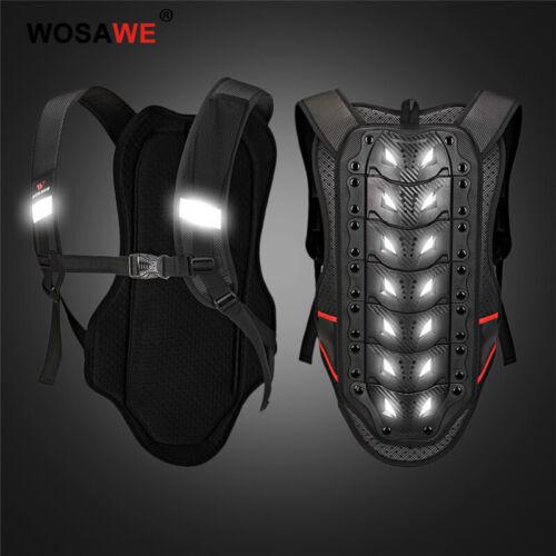 Protezione per la schiena del motociclo adulto Gilet corazzato BMX MTB Guards