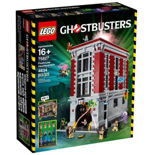 LEGO 75827 Ghostbusters Firehouse Headquarters -