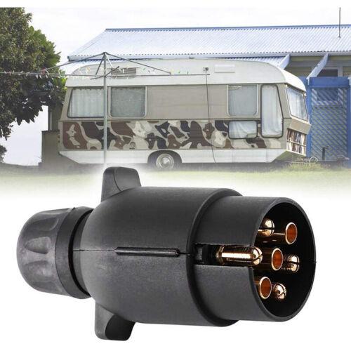 7 Pin Trailer Car Caravan Wiring Lights Tow Plastic Plug