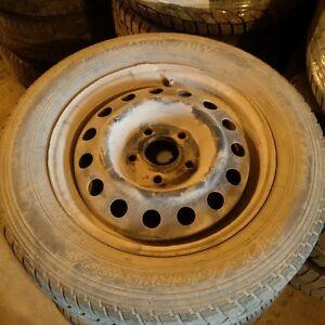 Hyundai Steel Rims and All Season Tires P195/65R15