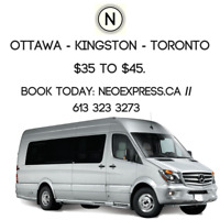 FREE WIFI MERCEDES RIDESHARE TO/FROM TORONTO $35