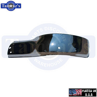 55 56 Chevy Bel Air Left Front End Bumper USA Plated Chrome New GMK404000055LA Front End Bumper Plate