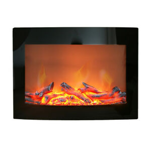 PARAMOUNT CURVED WALL MOUNT ELECTRIC FIREPLACE