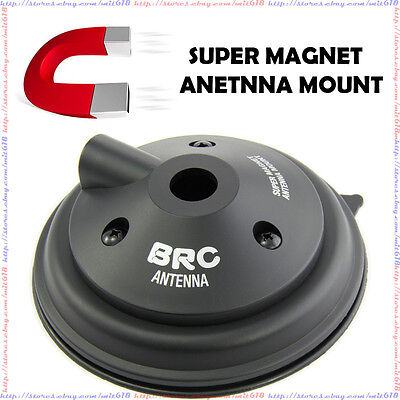 Brc Mm-800 Magnet Mount For Antenna Car Mobile Radio Yaes...