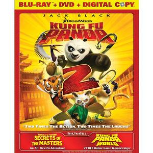Kung Fu Panda 2 Blu-ray - 2 disc Combo Packs (Blu-ray + DVD)