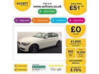 BMW 116i 1.6 136bhp Sports Hatch 2013 Sport Alloys FROM £51 PER WEEK!