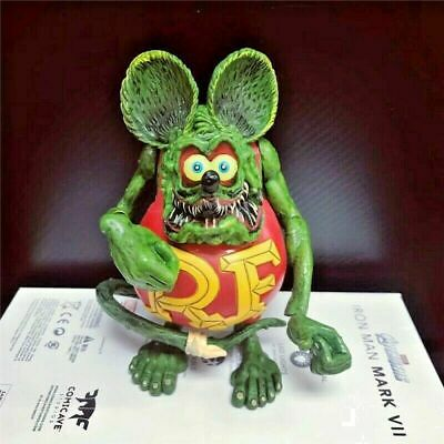 "Rat Fink Action Figure Ed ""Big Daddy"" Roth Kids Best Gift Special Red Edition"