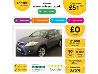 Ford Kuga 2.0TDCi ( 140ps ) 2012.25MY Zetec FROM £51 PER WEEK!