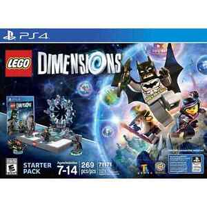 Lego dimensions PS4- many extra characters included
