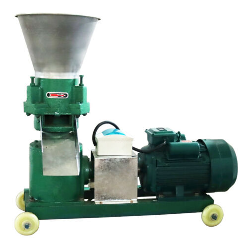 220V Chicken Feed Pellet Mill Machine 6MM for Cattle/Sheep/Horses/Pigs etc.