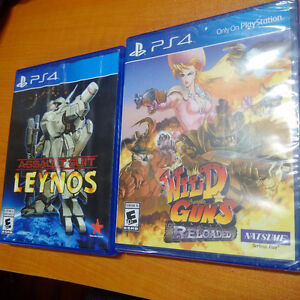 Wild Guns Reloaded - PS4 and Assault Suit Leynos