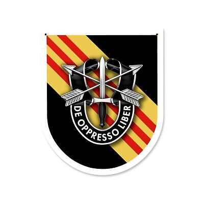 Army Special Forces 5th Group (Vietnam and Now Current) all Metal Sign 15 x 18