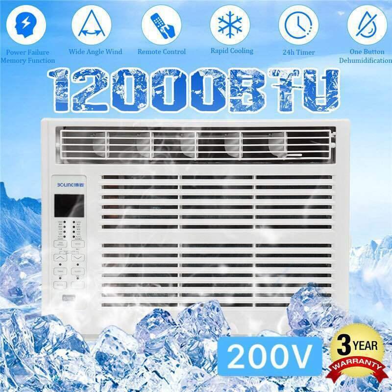 12000btu window air conditioner quiet cooling 24h