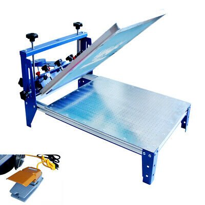 Easy To Use 3-direction Vacumm Screen Printing Press 20 X 24 Printing Area New