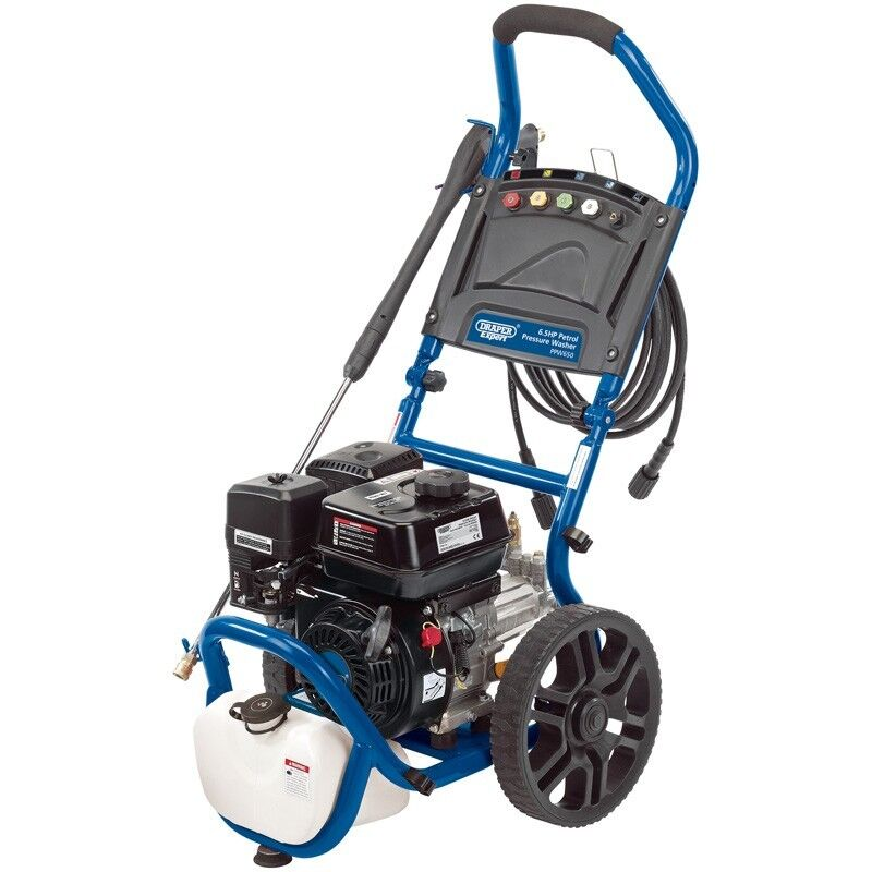 Draper 83818 Expert 6.5HP Rapid Cleaning 4 Stroke Petrol Pressure Washer