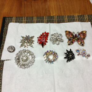 Antique pin collection