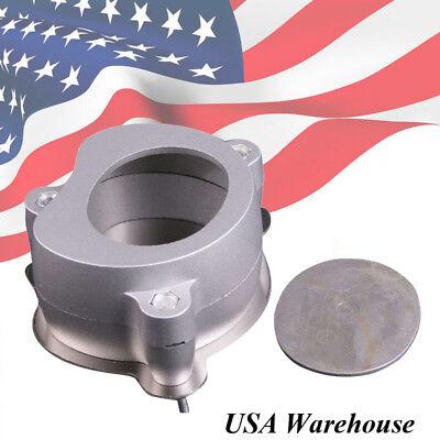 2x Denshine Dental Flask Compressor Aluminium Denture Parts Lab Equipment Dental