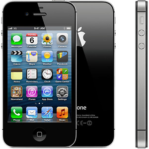 BLACK IPHONE 4S LOCKED TO FIDO(ROGERS)