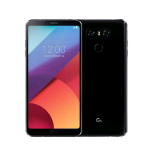 LG G6 32 GB UNLOCKED BLACK 9.5/10 Condition