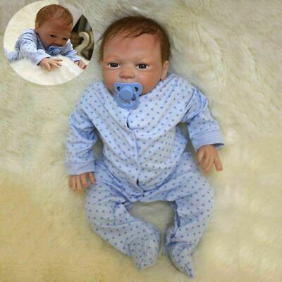 """20"""" Reborn Dolls Full Body Realistic Lifelike Baby Boy Newborn Doll Xmas Gifts"""