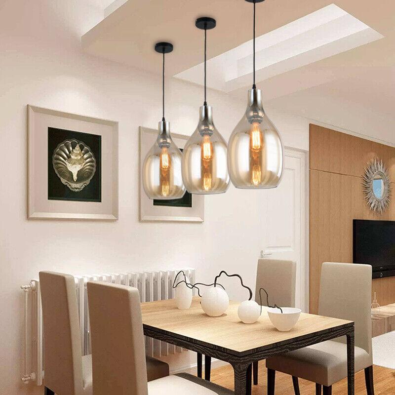 Glass Pendant Lights Bedroom Lamp Bar Chandelier Lighting Kitchen