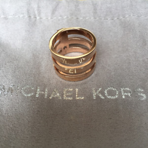 Bague Triple MICHAEL KORS Tri-Stack Ring