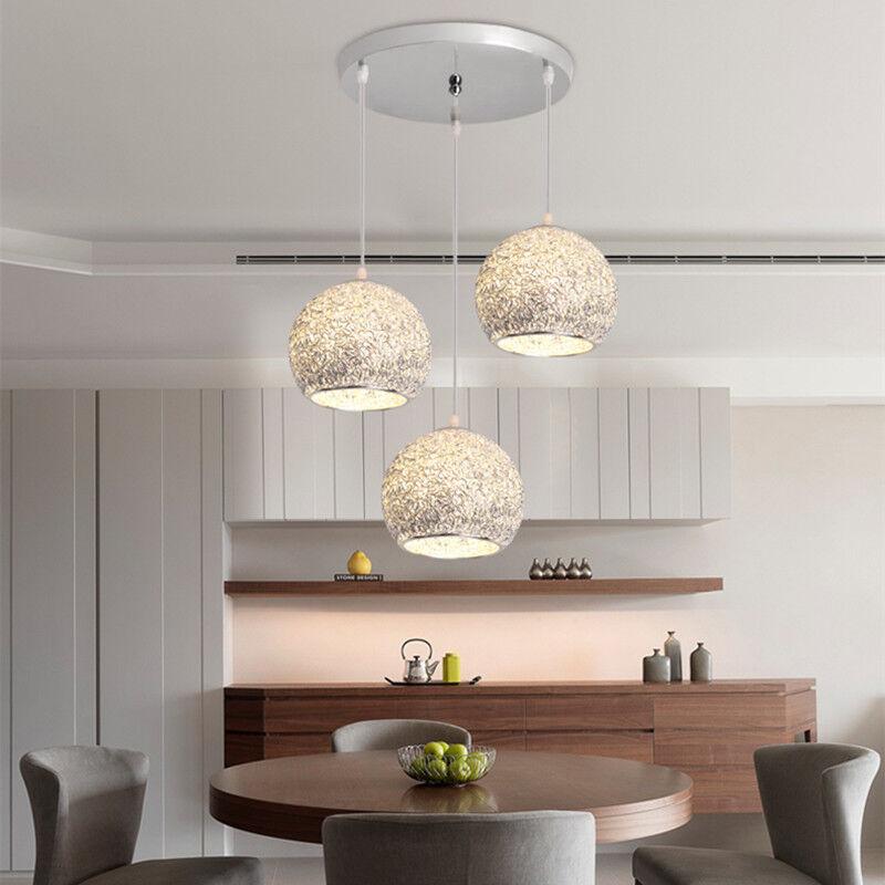 Kitchen Pendant Light Silver Chandelier Lighting Home Lamp