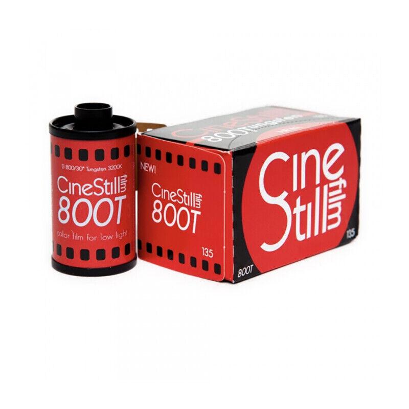 CineStill 800T ISO 800 Tungsten Color Film 35mm x 36 exp.
