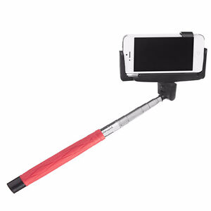 Brand new in box red selfie stick for camera, phone etc