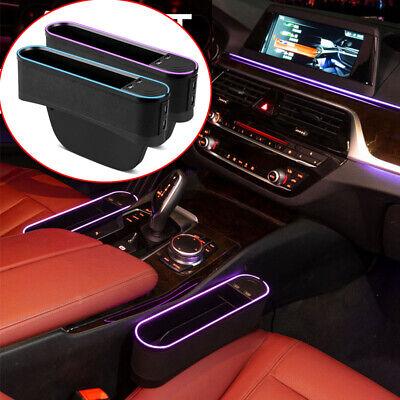 Purple Universal Car Seat Seam Bag Storage Phone Coins Accessories