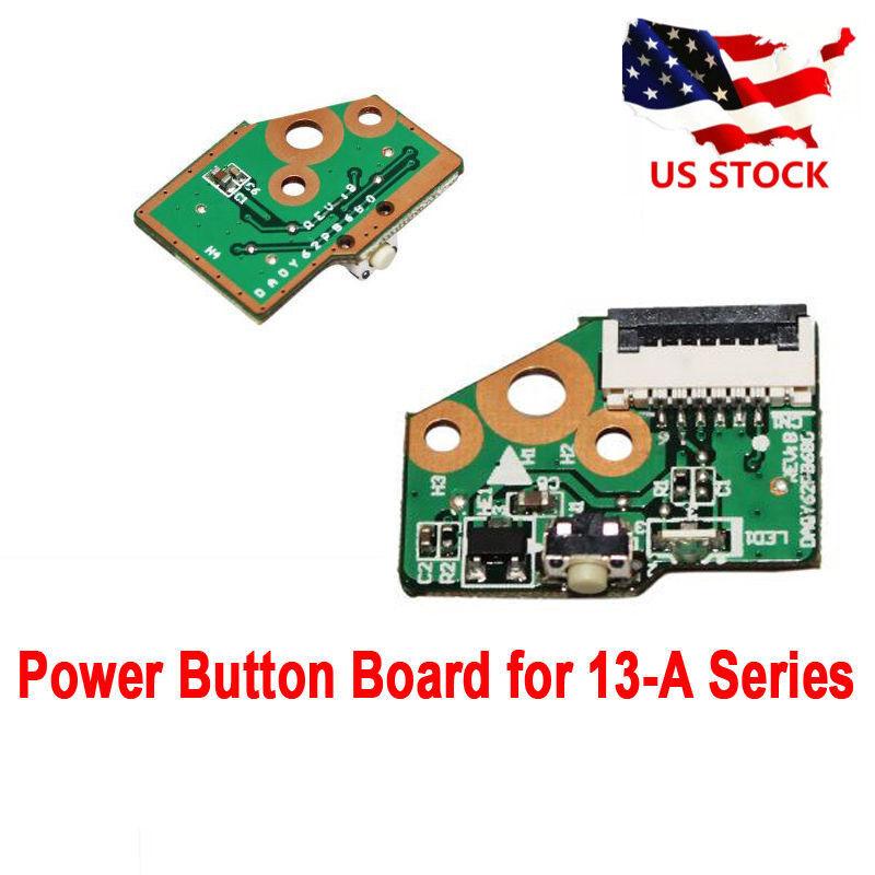 "Hp Pavilion 13.3"" X360 13-a110dx Oem Power Button Board W/cable Da0y62pb6b0 Gtop"