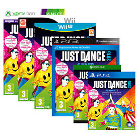 Just Dance 2015 All formats