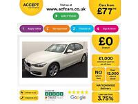 BMW 320 FROM £77 PER WEEK !