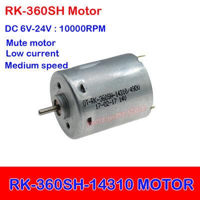2PCS DC 1.5V-12V 5V 6V 12000RPM High Speed Micro FF-130SH-13235 DC Motor DIY Toy