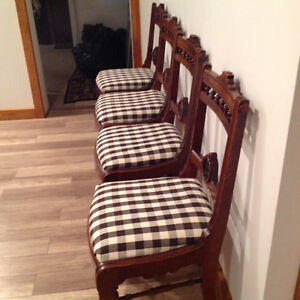 Four Antique chairs Kitchener / Waterloo Kitchener Area image 3