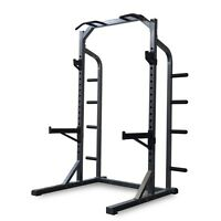 Brand New Deluxe half rack with dip bars