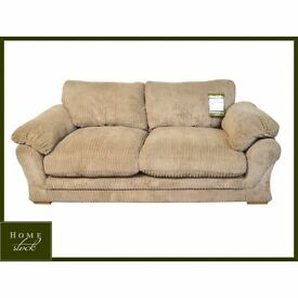Brand New Harveys 3 seater and 1 seater Lullabye. Brown sofa and cuddle chair. NICE SET