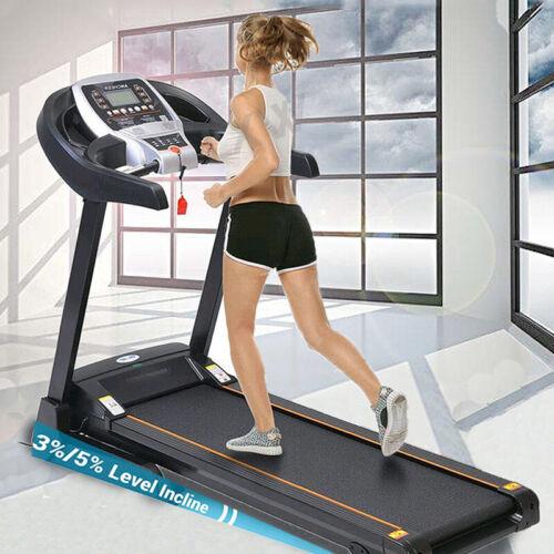3.25HP Heavy Duty Folding Motorized Electric Treadmill incline Running Machine