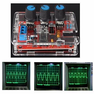 Xr2206 1Hz 1Mhz Function Signal Generator Sine Square Triangle Wave Output Kits