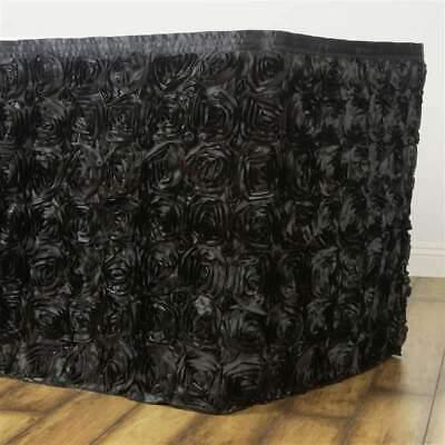 21 Feet ~NEW~ Rosette Table Skirt For Wedding Party Decor -