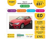 Seat Leon 2.0TDI CR ( 184ps ) ( s/s ) SportCoupe FROM £51 PER WEEK!