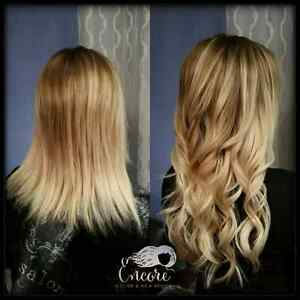 Premium Hair Extensions and Cutting/Coloring/Styling Services Edmonton Edmonton Area image 1
