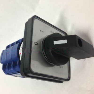 1pcs Combination Changeover Switch 12 Terminals 6 Position Ac 660v 20a Latching