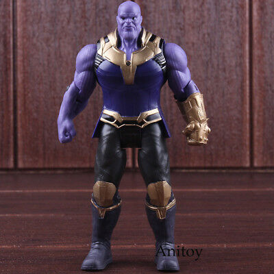 Avengers Marvel Action Figures Toys Lighting Infinity War Thanos Figure PVC