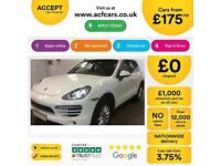 Porsche Cayenne Tiptronic S FROM £175 PER WEEK!